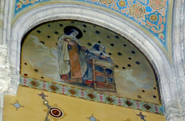 Santa teresa de jesus madrina de madre petra