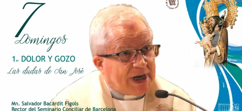 Mossen Bacardit comentando el primer domingo a san jose