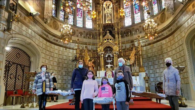 cartas ante el altar de San José