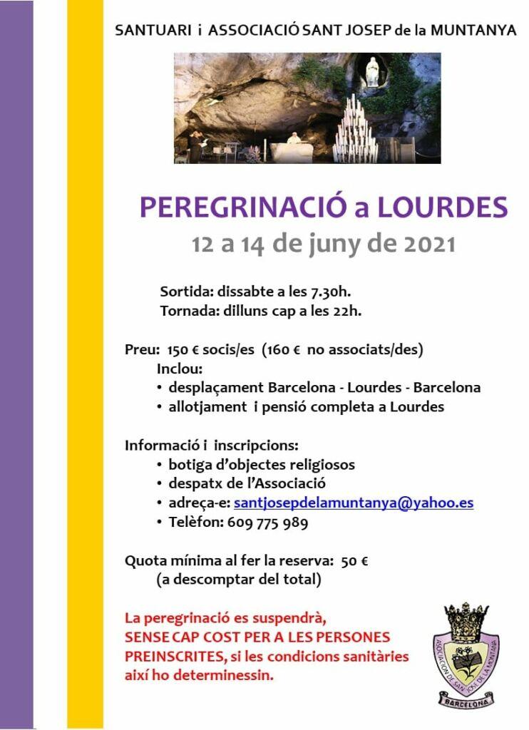 peregrinatge a Lourdes