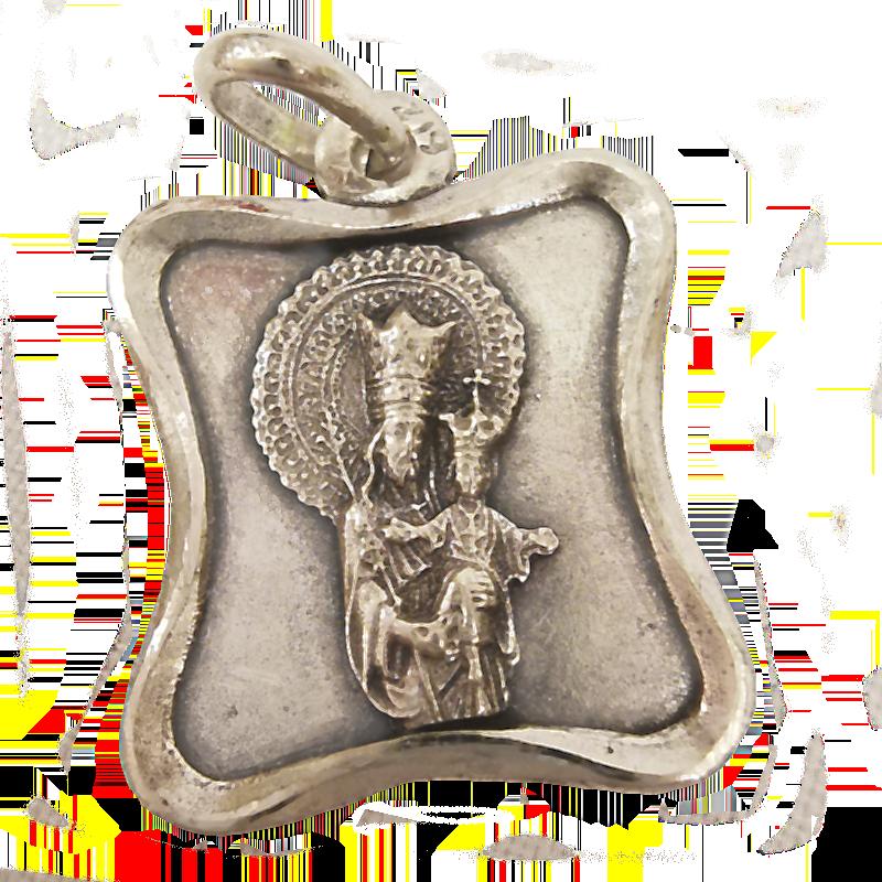 medalla en plata vieja