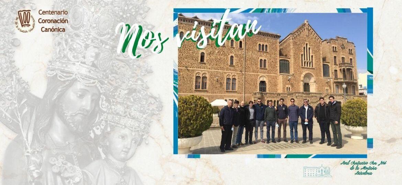 Nos visitan seminaristas de la residencia San José de la Montaña