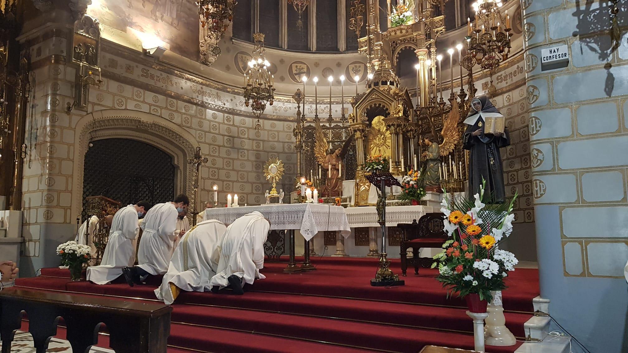 Adoración corpus ante san jose