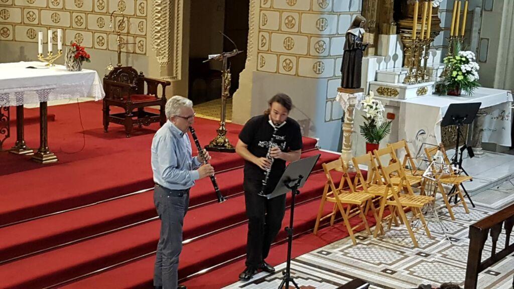 concierto en el santuario