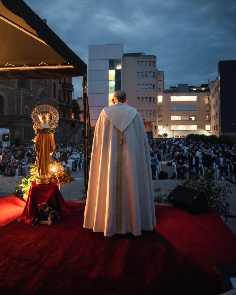 San Jose de la Montaña y el Arzobispo Omella