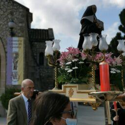procesión de Madre Petra en el centenario