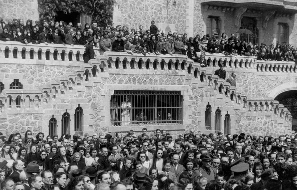 santuario san jose lleno a mediados del siglo xx barcelona