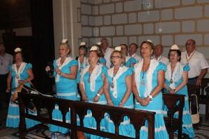 Coro rociero en el Real Santuario de San José de la Montaña