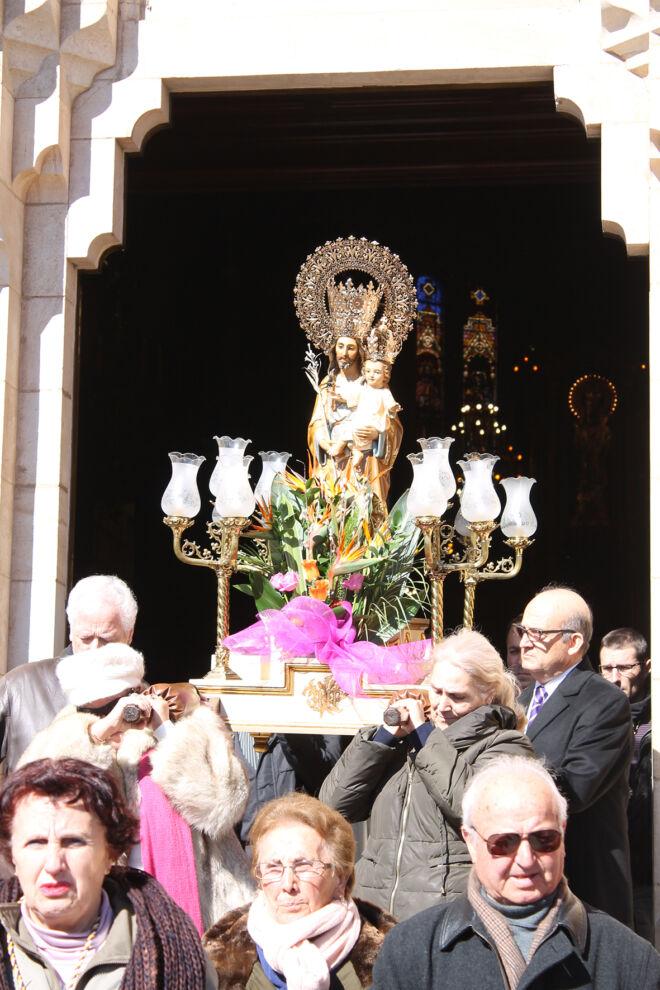 salve a san jose procesion