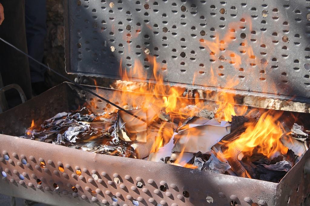 quema de cartas a san josé
