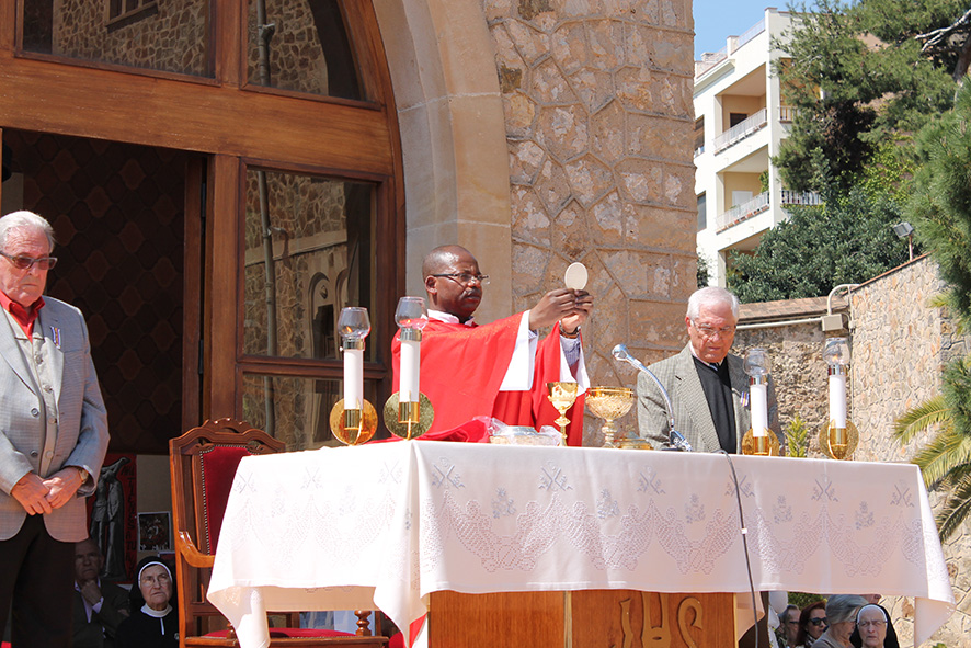 Domingo de Ramos. Real Santuario de San José de la Montaña. Barcelona