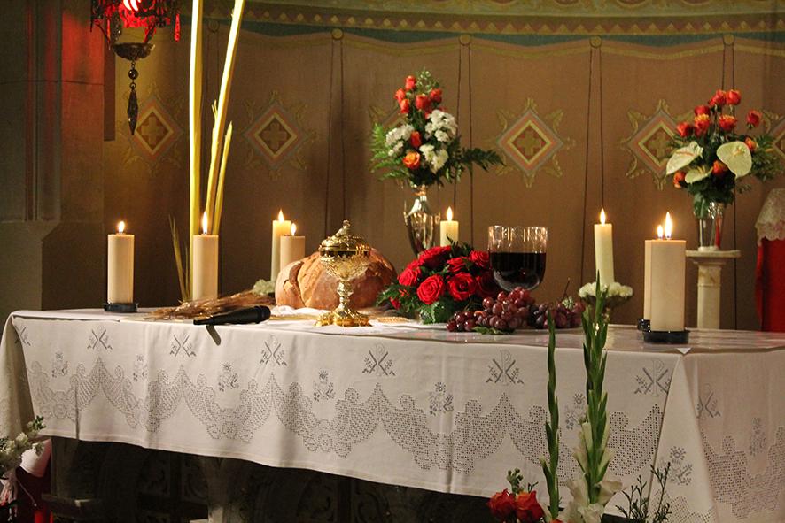 Jueves Viernes Santo en el Santuario de San José de la Montaña
