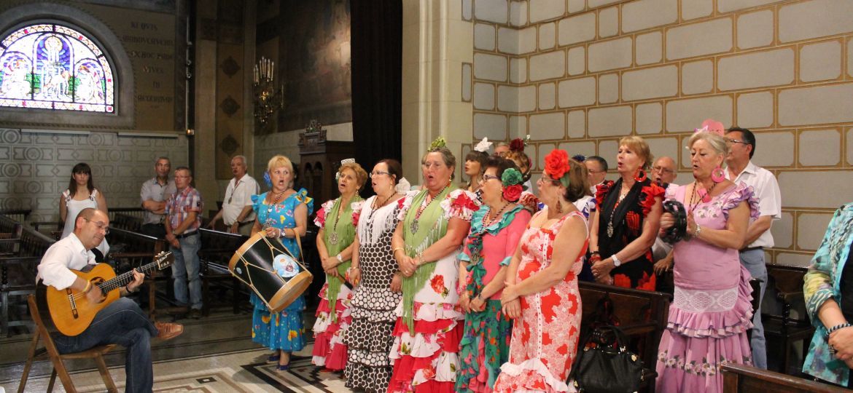 Misa rociera, Barcelona. Coro San José de la Montaña