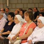Madres de Desamparados y San José de la Montaña en Misa. Real Santuario de San José de la Montaña. Barcelona.