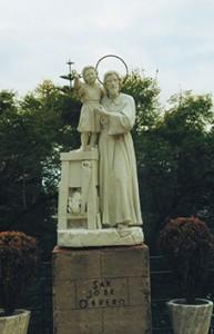 San José obrero en la explanada del santuario